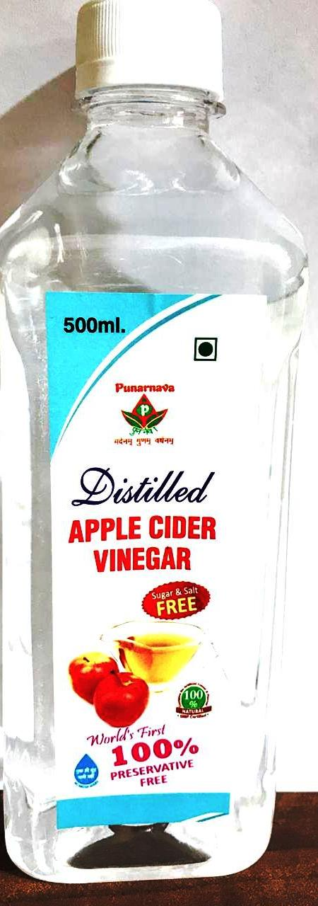 Distilled Apple cider Vinegar 100%preservative free