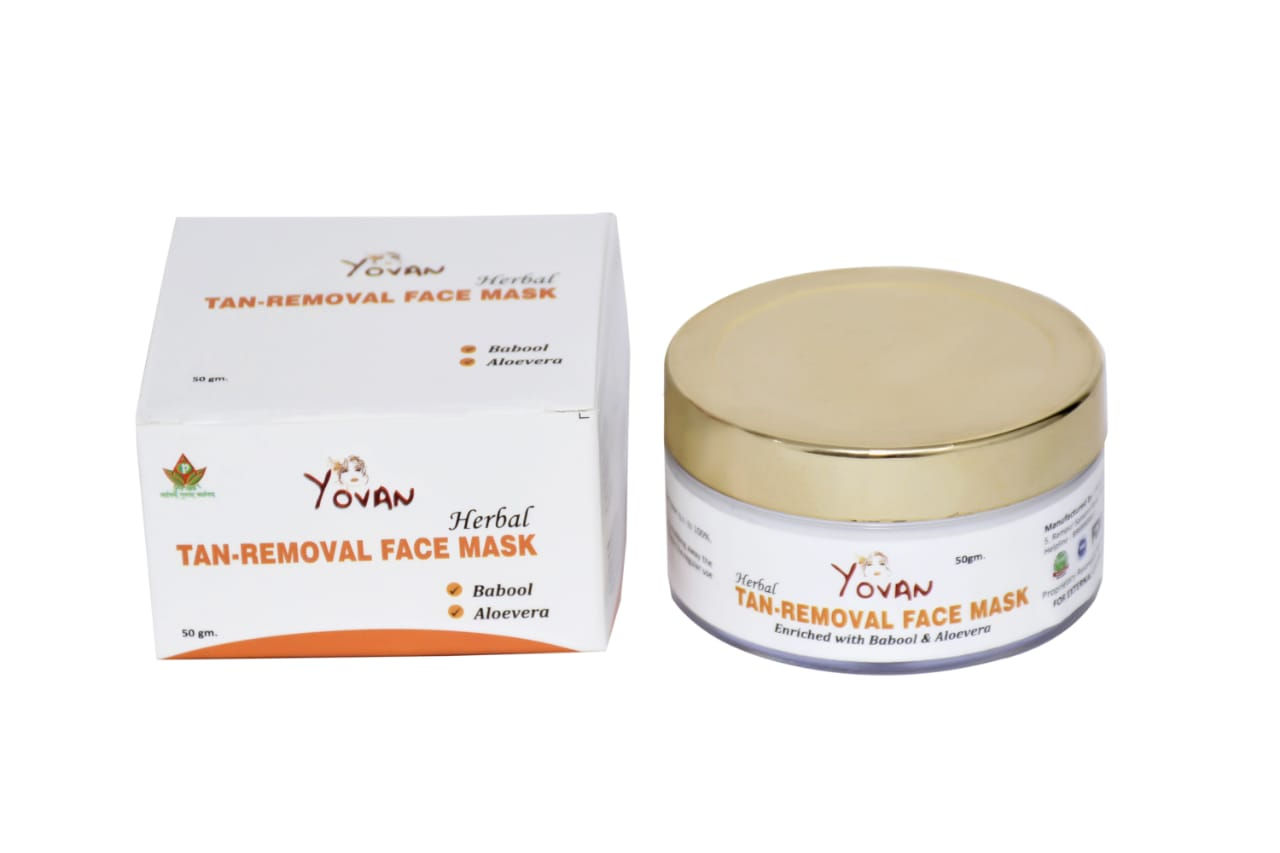 YOVAN TAN REMOVAL MASK