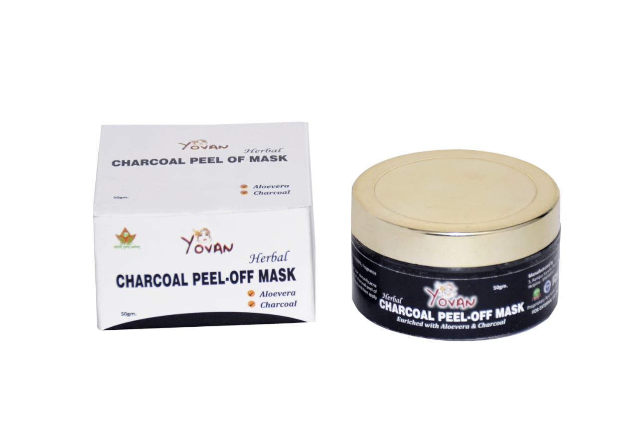 YOVAN CHARCOAL PEEL OF MASK