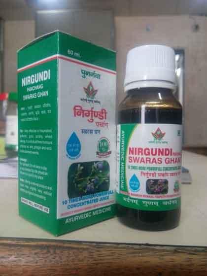 Nirgundi Swaras Ghan.